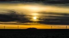 sunset in Nevada